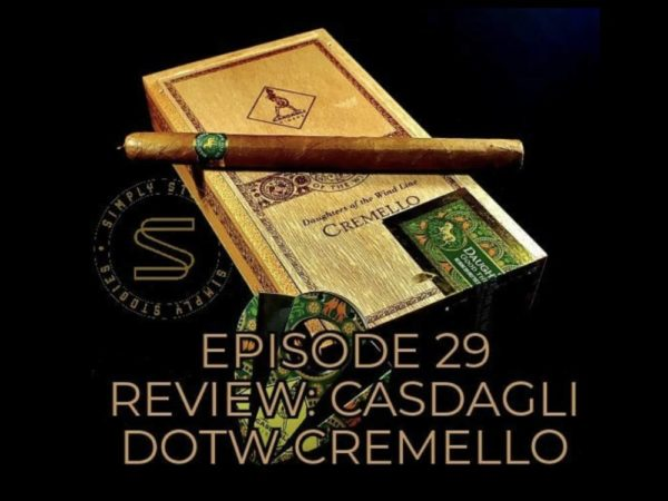 Simply Stogies review: Cremello of the Daughters of the Wind Line