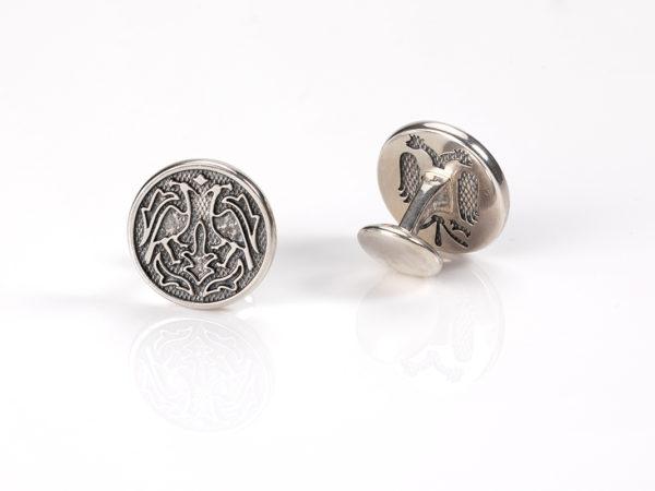 Villa Casdagli sterling silver cufflinks