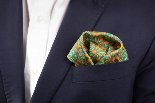 Villa Casdagli pocket square