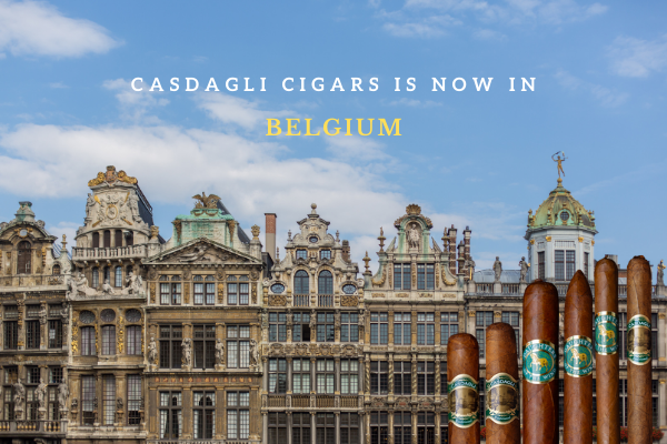 Casdagli Cigars available in Belgium