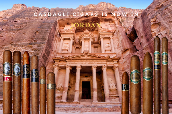 Casdagli Cigars distributor in Jordan - Fyxx
