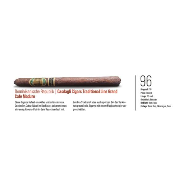 Casdagli Cigars Grand Café Maduro review_Zigarren Magazine